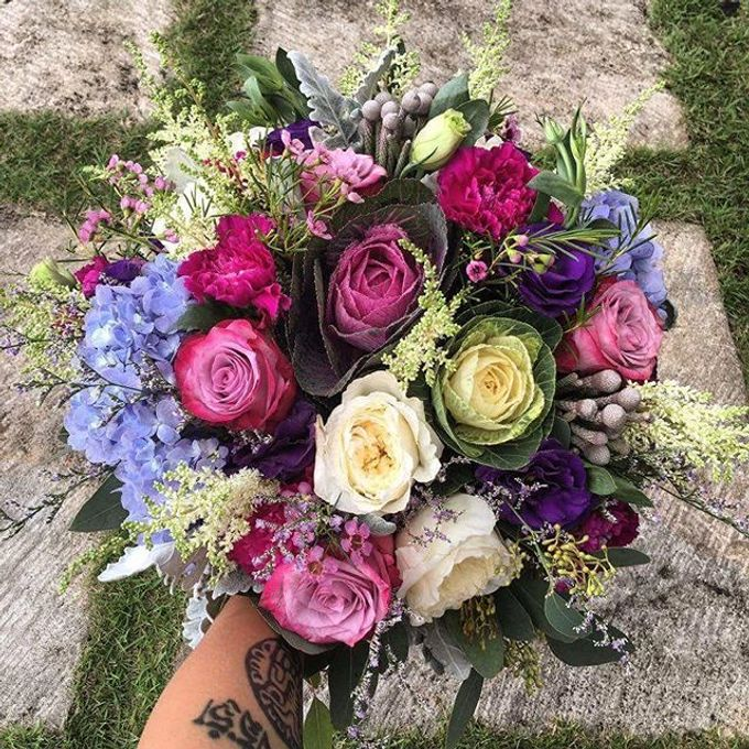 Bouquets  by Weddings by TV - 032