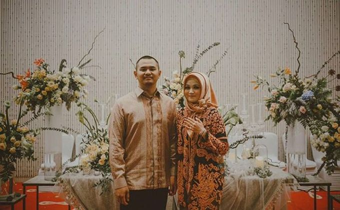 Engagement of Novi and Tyo by Seserahan by Rose Arbor - 001