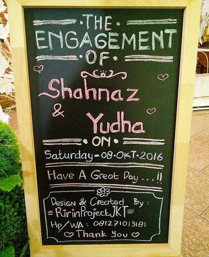 Syahnaz & Yudha engagement by Chandira Wedding Organizer - 032