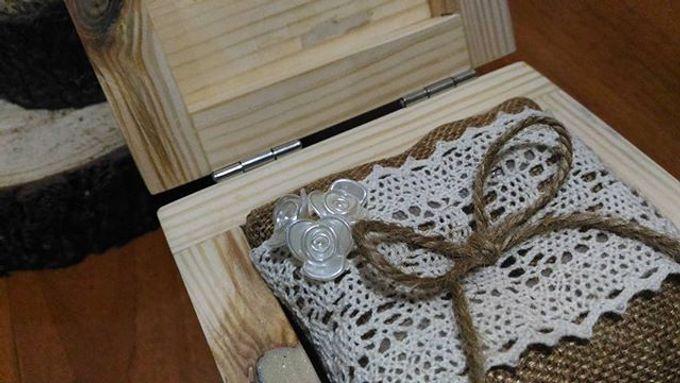 Wedding ring box by Hana Seserahan - 020