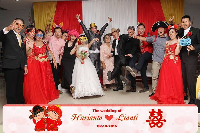 Wedding of Harianto & Aurelia Katarina Lianty by Pelangi Cake - 001