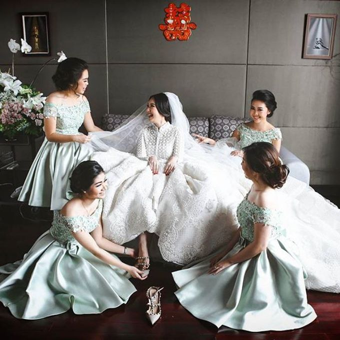 CATUR & MELLISA WEDDING DAY by Tinara Brides - 008