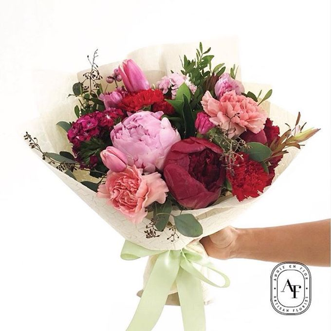 Hand Bouquet - 2 by Angie Fior - 005