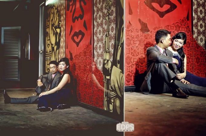 LLOYD and Fatima Engagement shoot by Nadine Rayo Hair and Makeup Artistry - 006