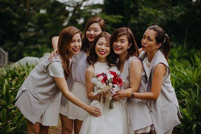Bridal Hand Bouquet by Petite Fleur SG - 007