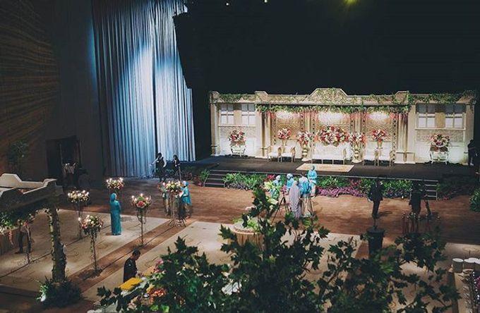 XXI Ballroom -  Mandailing Wedding Reception of Iman & Dira by Dikaderadjat - 001