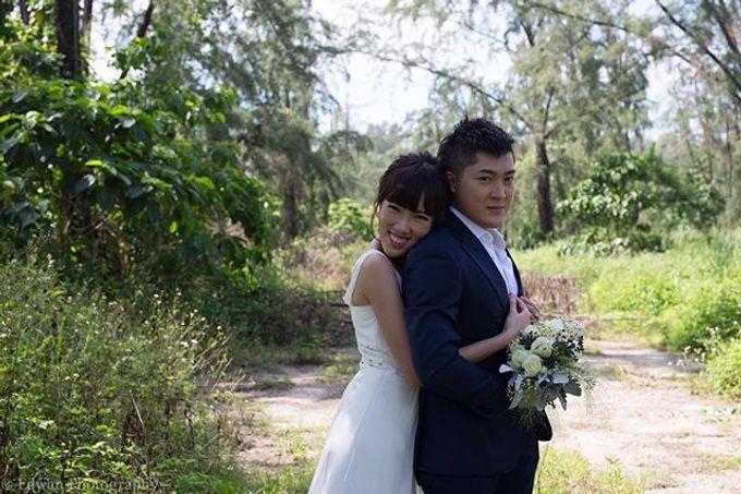 Bridal Hand Bouquet by Petite Fleur SG - 005