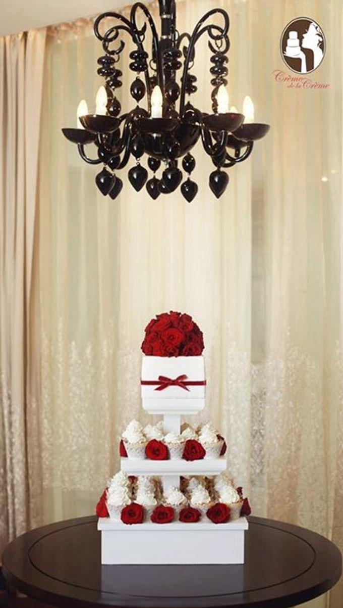 Wedding Cupcakes by Creme de la Creme Bali | Bridestory.com