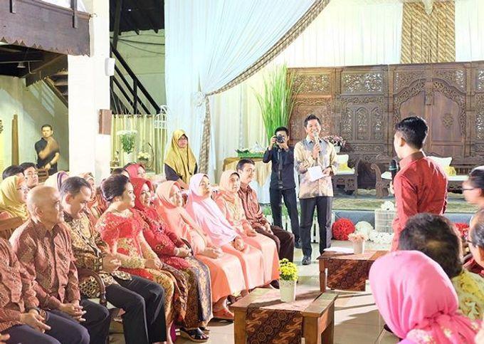 Syahnaz & Yudha engagement by Chandira Wedding Organizer - 002