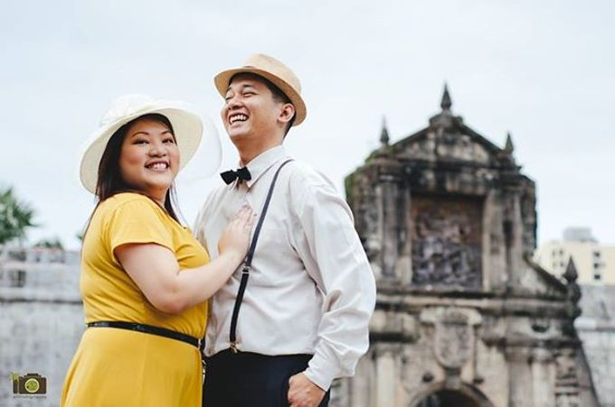 Franc and Jhoan Intramuros Engagement Session by Primatograpiya Studios - 002
