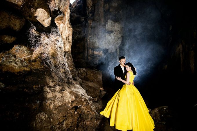 Davin & Yunisa Prewedding Makeup and hairdo by Imelda Hudiyono Bride - 002