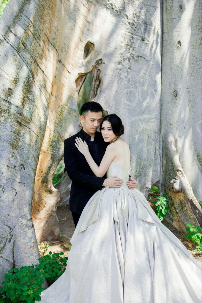 Davin & Yunisa Prewedding Makeup and hairdo by Imelda Hudiyono Bride - 010