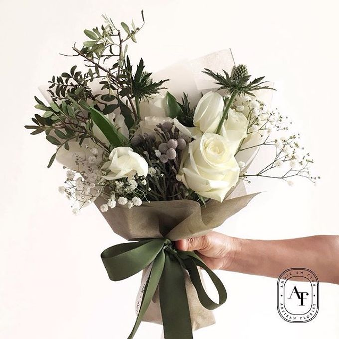 Hand Bouquet - 2 by Angie Fior - 009