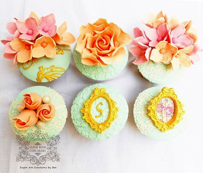 Engagements & Wedding Cakes by Fleur Bites Cupcakery - 029