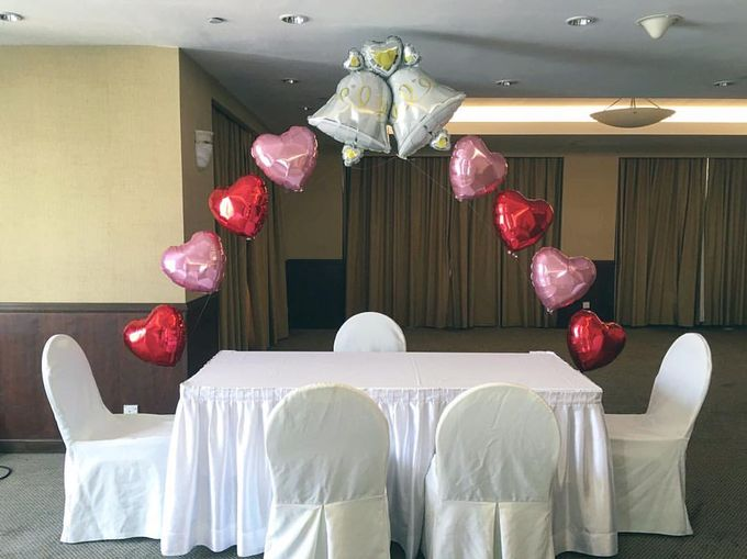 Solemnisation Table by Balloon Blasters - 004