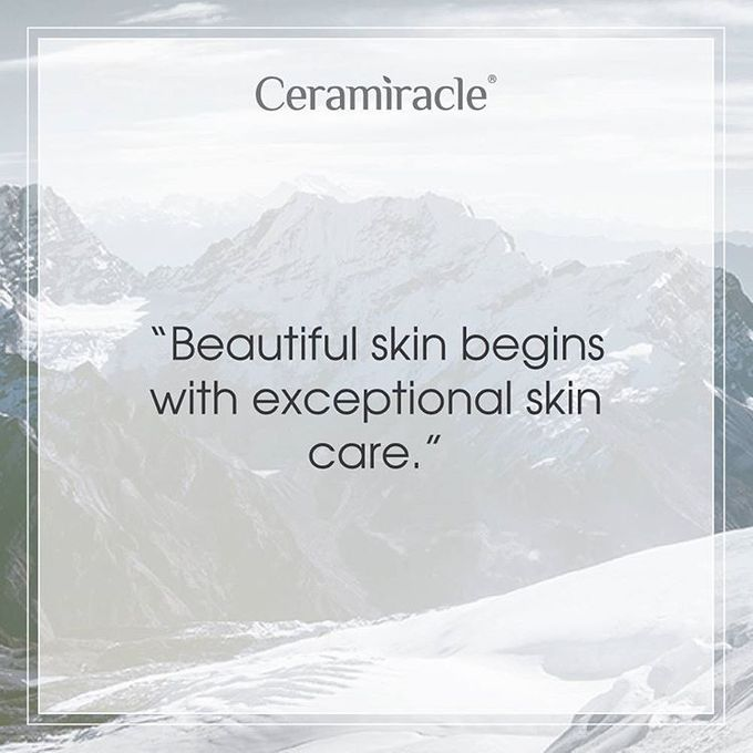 Beautiful Skin begins with exceptional skin care by Ceramiracle, Inc - 001