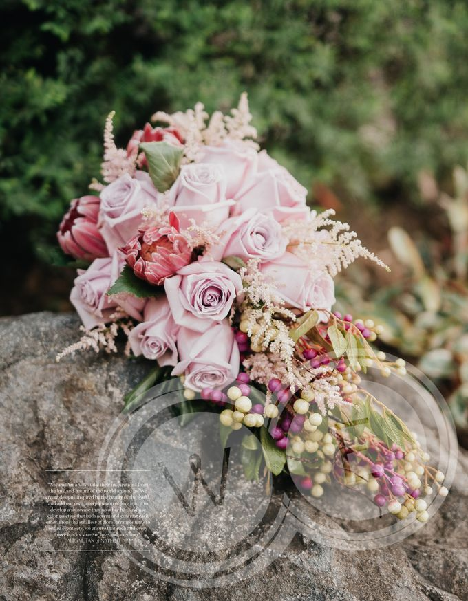 Bridal Bouquets by Natural Art Flowers and Decors - 011