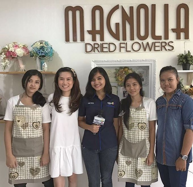 Seputar Indonesia visited our workshop by Magnolia Dried Flower - 004