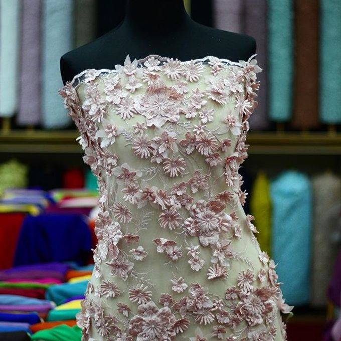 Exclusive Lace and Tulle by La Femme Couture - 002