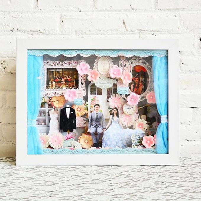 Scrap 3d frame by Cup Of Love Design Studio - 001