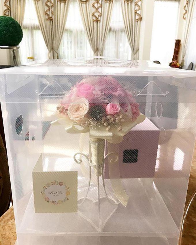 Bridal Bouquet & Boutonnière  by Petal Co. - 002