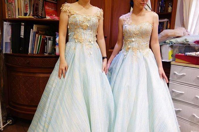 Sister Dresses of Lisa&Lukas Wedding  by FANNY KARTIKA - 008