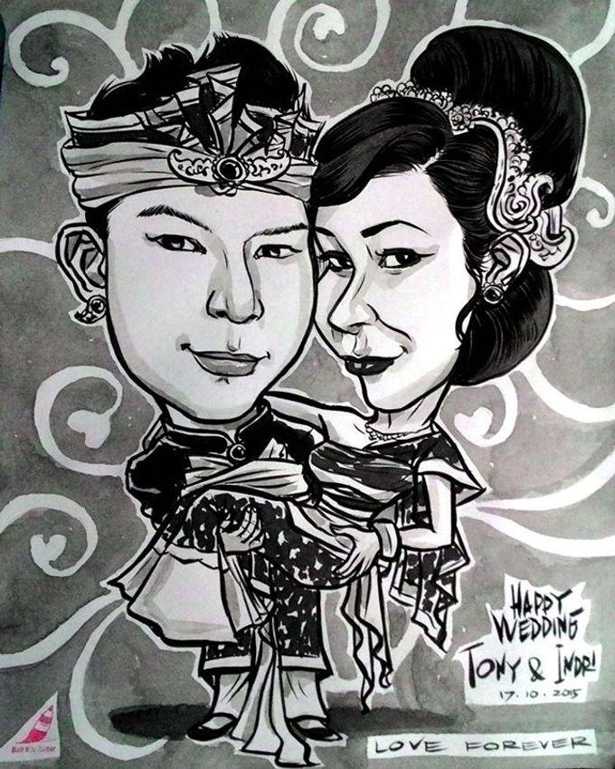 Wedding Souvenir by Bali Karikatur - 011