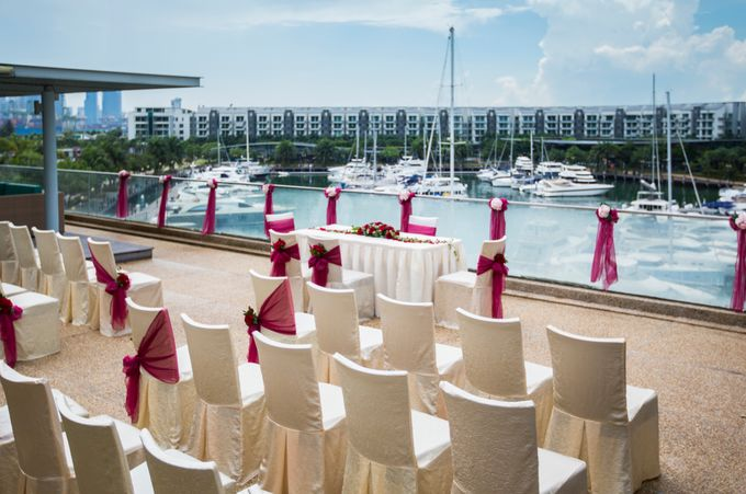 Rooftop Terrace Solemnization by ONE°15 Marina Sentosa Cove, Singapore - 001