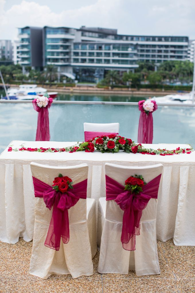 Rooftop Terrace Solemnization by ONE°15 Marina Sentosa Cove, Singapore - 002
