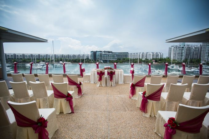 Rooftop Terrace Solemnization by ONE°15 Marina Sentosa Cove, Singapore - 005