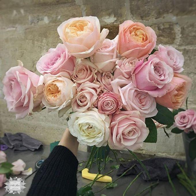Bridal Hand Bouquet by Petite Fleur SG - 008