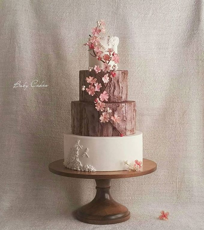 Single tier and multi tiered cakes by Baby Cakes - 002