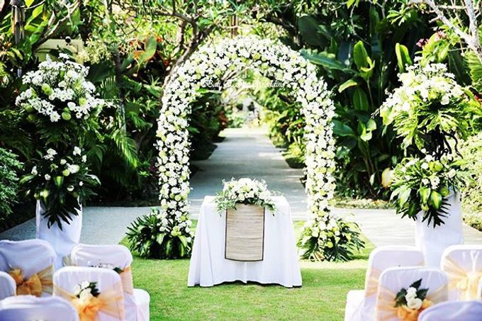 Bali Exotic Wedding Decorations by Bali Exotic Wedding Organizer - 001