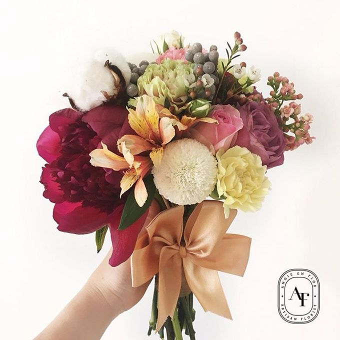 Bride Bouquet by Angie Fior - 040