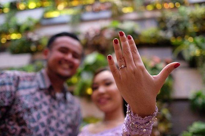 Monik Indra Engagement by Chandira Wedding Organizer - 003