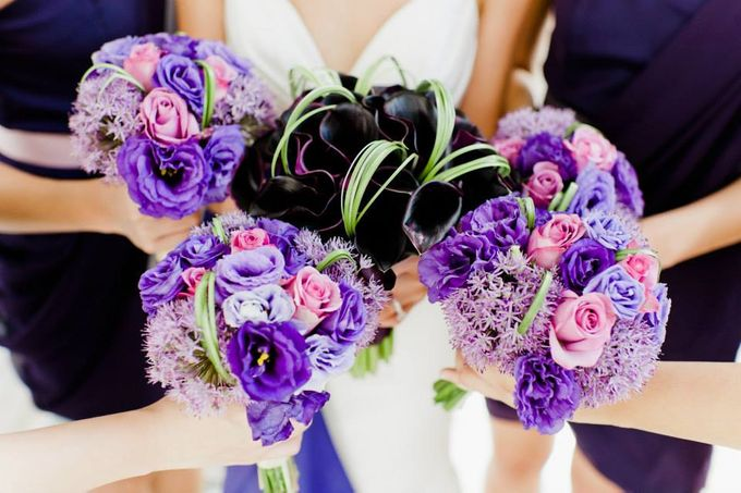 Bridal Hand Bouquets by Sing See Soon - 004