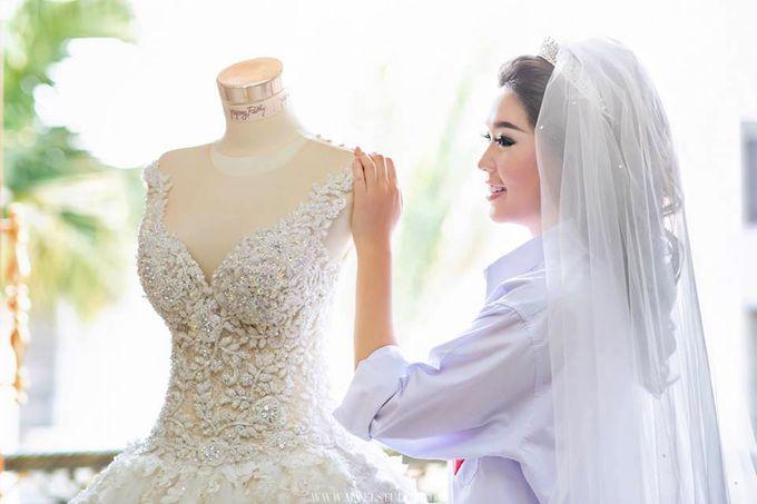 WEDDING DAY FOR RUSSEL & STELLA by Fedya Make Up Artist - 003