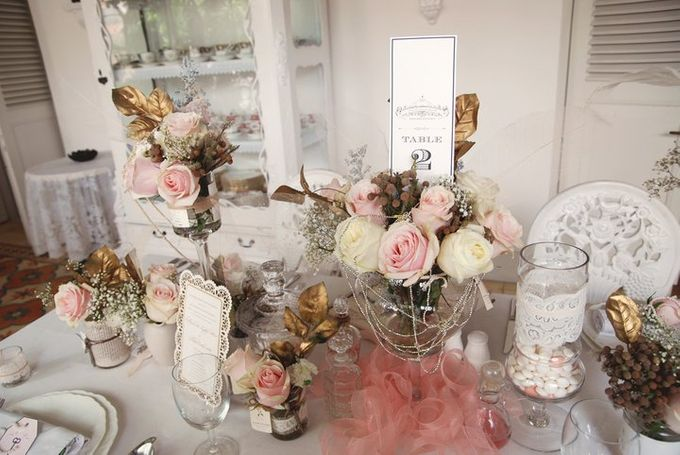 a beautiful dream by Tea Rose Wedding Designer - 014