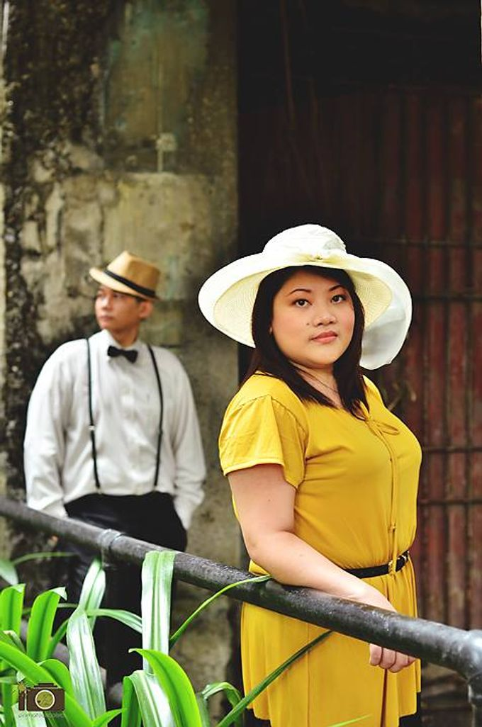 Franc and Jhoan Intramuros Engagement Session by Primatograpiya Studios - 001