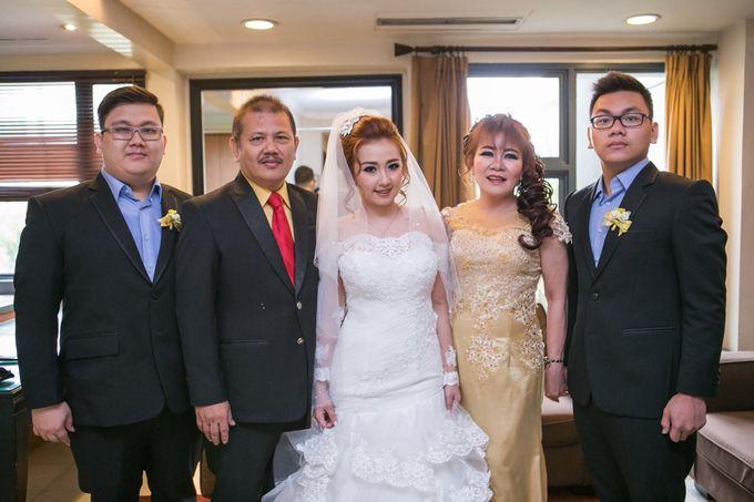 The wedding ceremony of Pingkan & Ferdhian by KYRIA WEDDING - 002