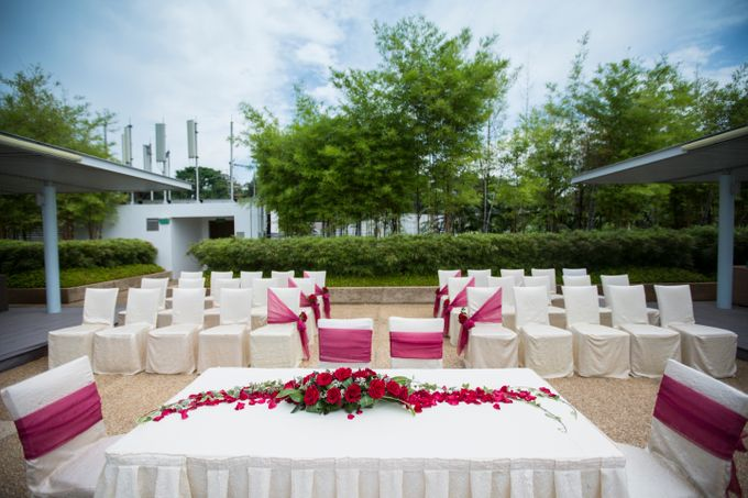 Rooftop Terrace Solemnization by ONE°15 Marina Sentosa Cove, Singapore - 003