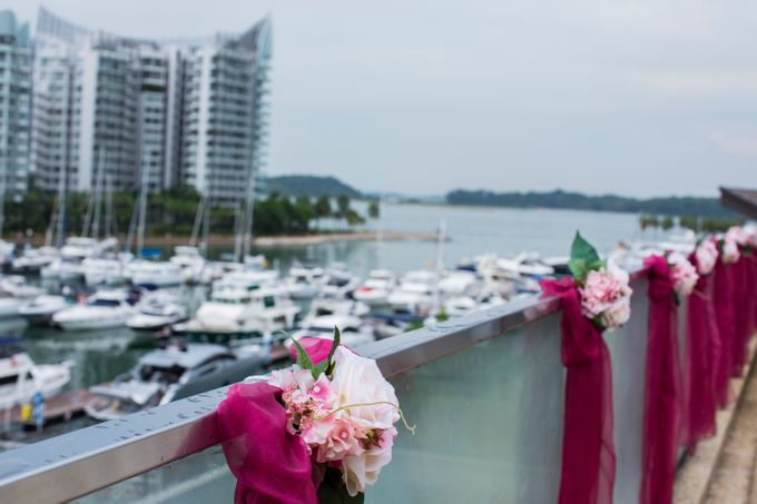 Rooftop Terrace Solemnization by ONE°15 Marina Sentosa Cove, Singapore - 006
