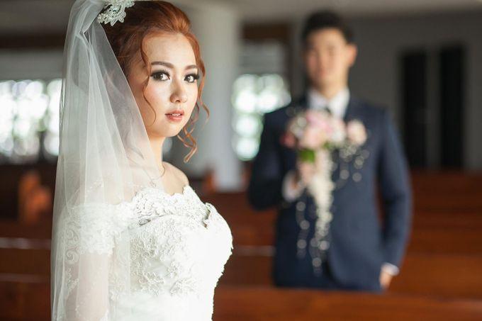 The wedding ceremony of Pingkan & Ferdhian by KYRIA WEDDING - 004