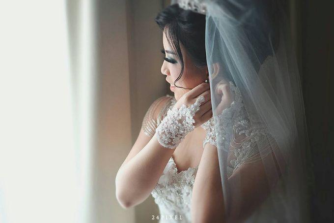 Wedding of Edwin & Veronica by Gester Bridal & Salon Smart Hair - 007