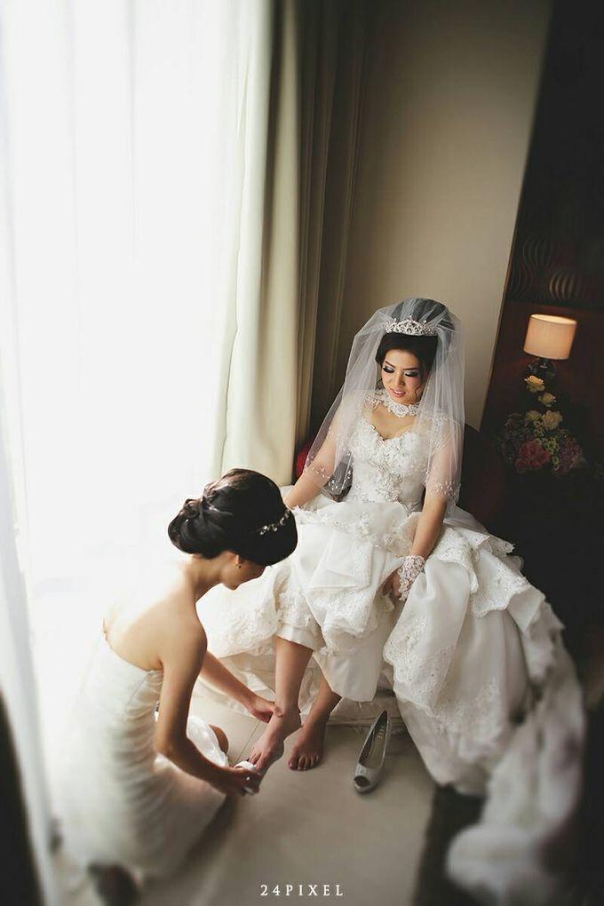 Wedding of Edwin & Veronica by Gester Bridal & Salon Smart Hair - 011