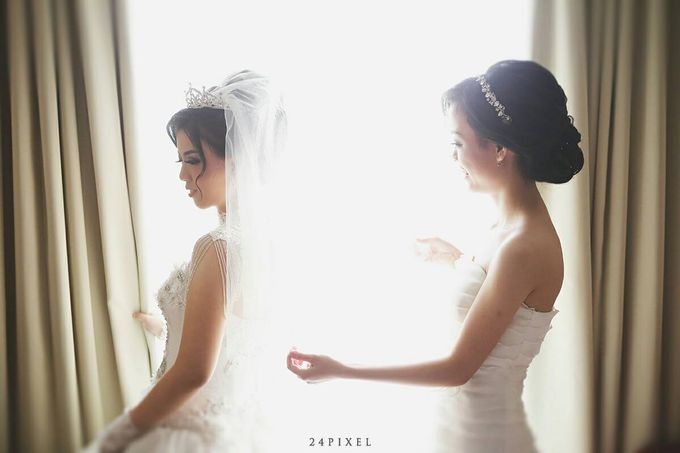 Wedding of Edwin & Veronica by Gester Bridal & Salon Smart Hair - 012
