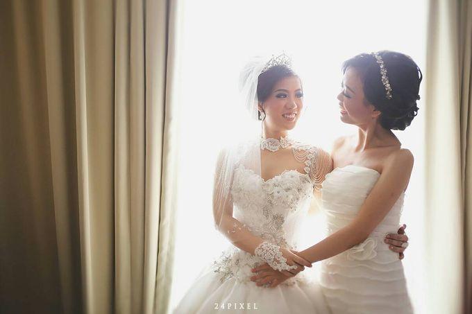 Wedding of Edwin & Veronica by Gester Bridal & Salon Smart Hair - 014