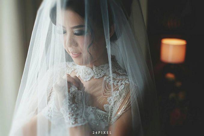 Wedding of Edwin & Veronica by Gester Bridal & Salon Smart Hair - 015