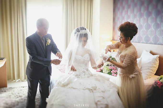Wedding of Edwin & Veronica by Gester Bridal & Salon Smart Hair - 016