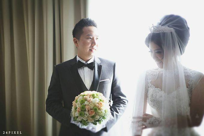 Wedding of Edwin & Veronica by Gester Bridal & Salon Smart Hair - 018